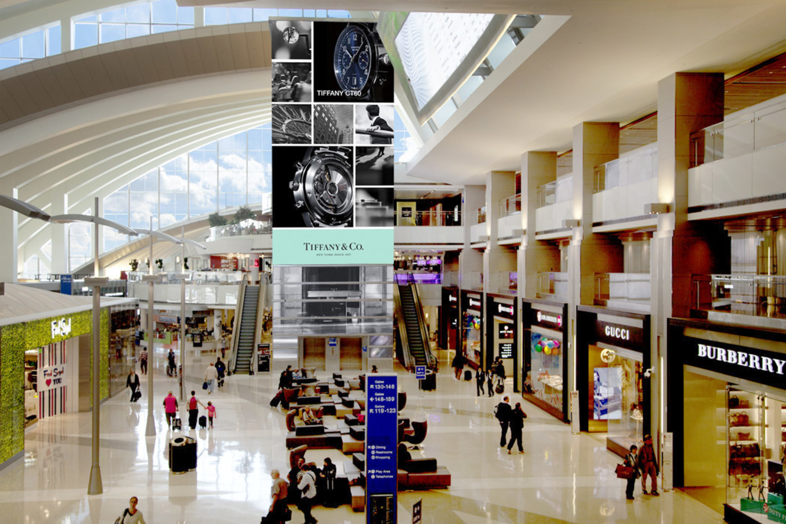 Tiffany & Co  Unveils New Outdoor Campaign on JCDecaux's Largest