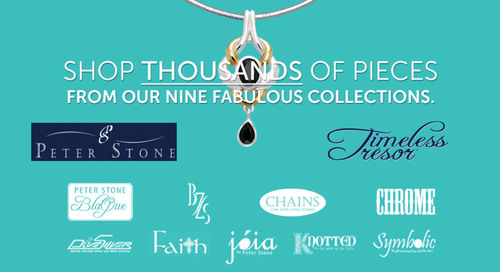 """Peter Stone presents their new """"Timeless Tresor"""" jewelry collections.  (PRNewsFoto/Peter Stone Jewelry)"""