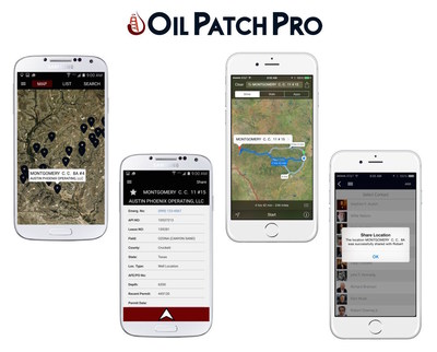 With Oil Patch Pro users have all of their oilfield location data in the palm of their hand, where it can be easily shared with operating companies, vendors, consultants and other personnel. Now, turn-by-turn driving directions, contact info, approved vendor lists, status updates, permit & completion data and more is available anytime!