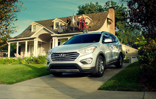 THE FLAMING LIPS AND HYUNDAI PRODUCE EPIC SUPER BOWL AD.  (PRNewsFoto/Hyundai Motor America)