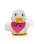 Aflac is commemorating National Breast Cancer Awareness Month with a variety of initiatives including selling its new plush duck wearing a pink bandana with all the proceeds going to the American Association for Cancer Research Foundation. Visit thisduckwearspink.com for more information. (PRNewsFoto/Aflac)