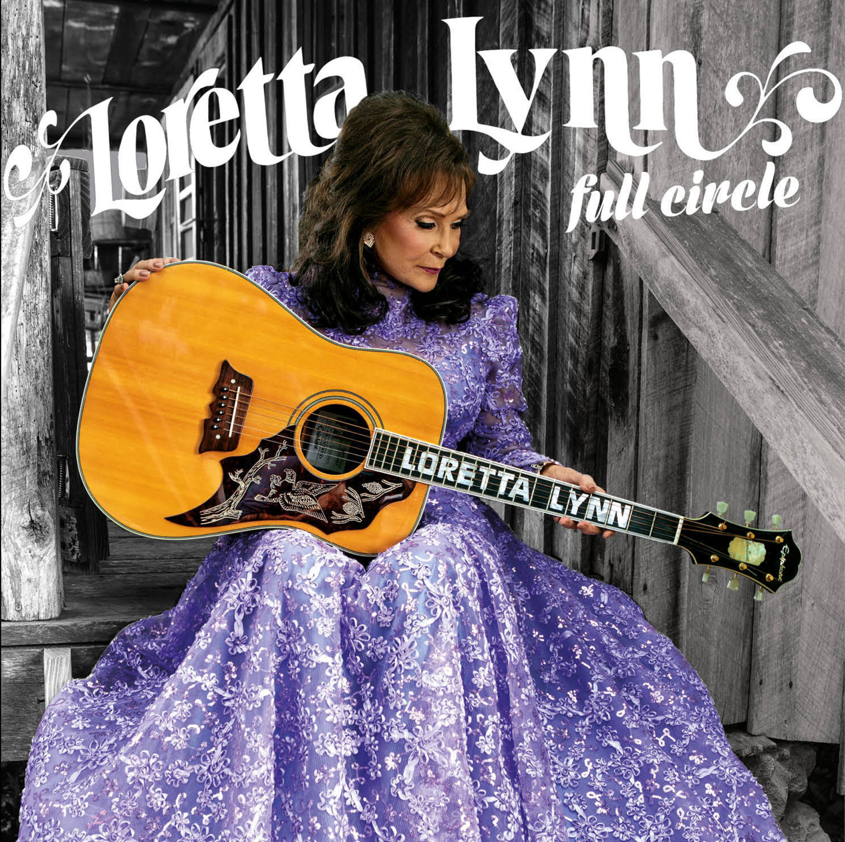 Legacy Recordings will release FULL CIRCLE, the first new studio album in over ten years from American music icon Loretta Lynn, on March 4, 2016.