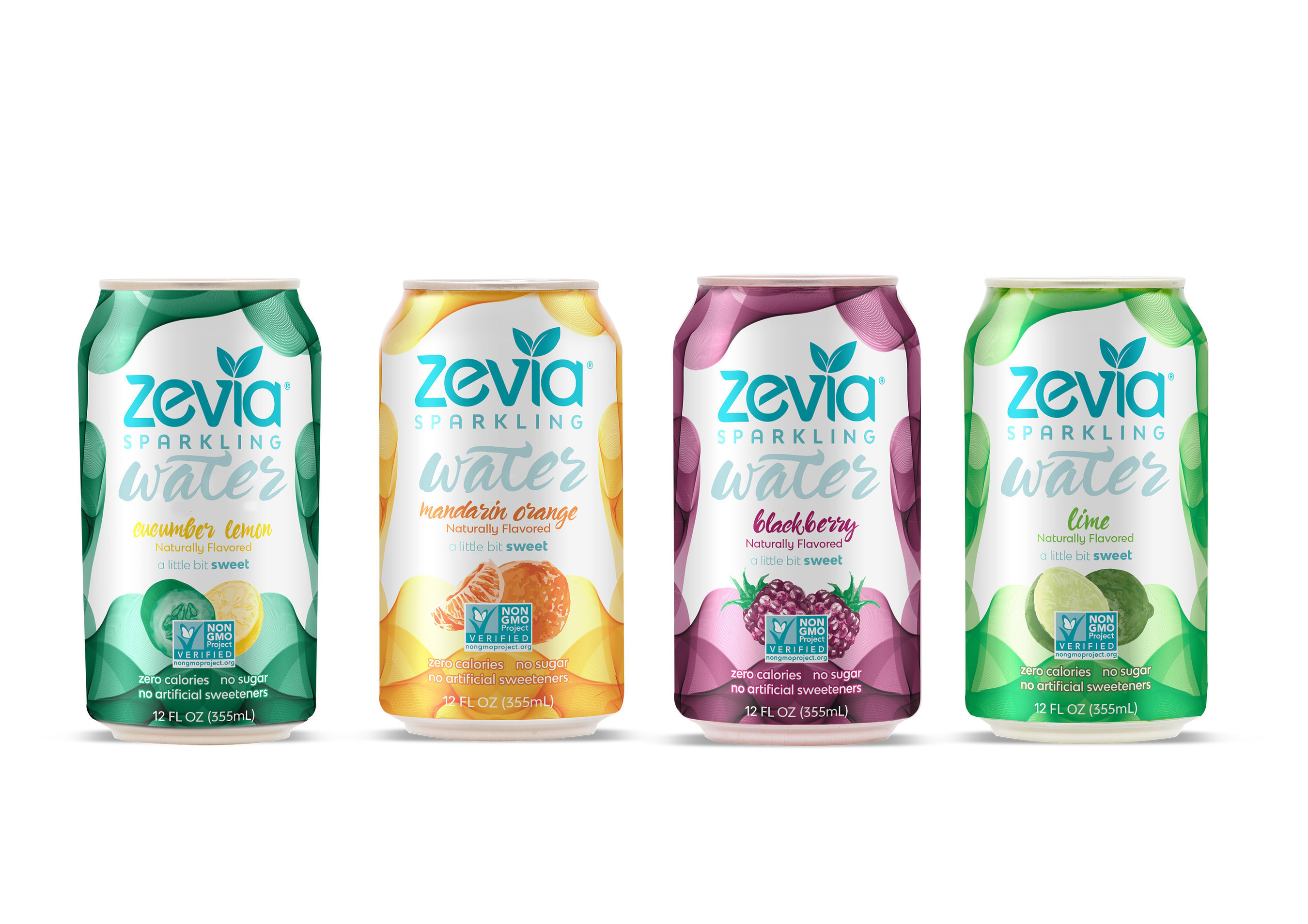 Zevia Introduces Zero-Calorie, Naturally Sweetened Sparkling Water Product Line