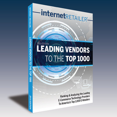 The Internet Retailer 2015 Leading Vendors to the Top 1,000 contains detailed competitive information on the leading e-commerce solutions providers--data not available from any other source. (PRNewsFoto/Internet Retailer)