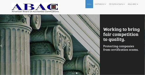 ABAC - American Board of Accredited Certifications (PRNewsFoto/ABAC)