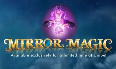 """""""Mirror Magic is Available Exclusively at Unibet Casino in Flash and HTML5, New Mirrored Pays Feature Enhances Player Experience (PRNewsFoto/Genesis Gaming) (PRNewsFoto/Genesis Gaming)"""