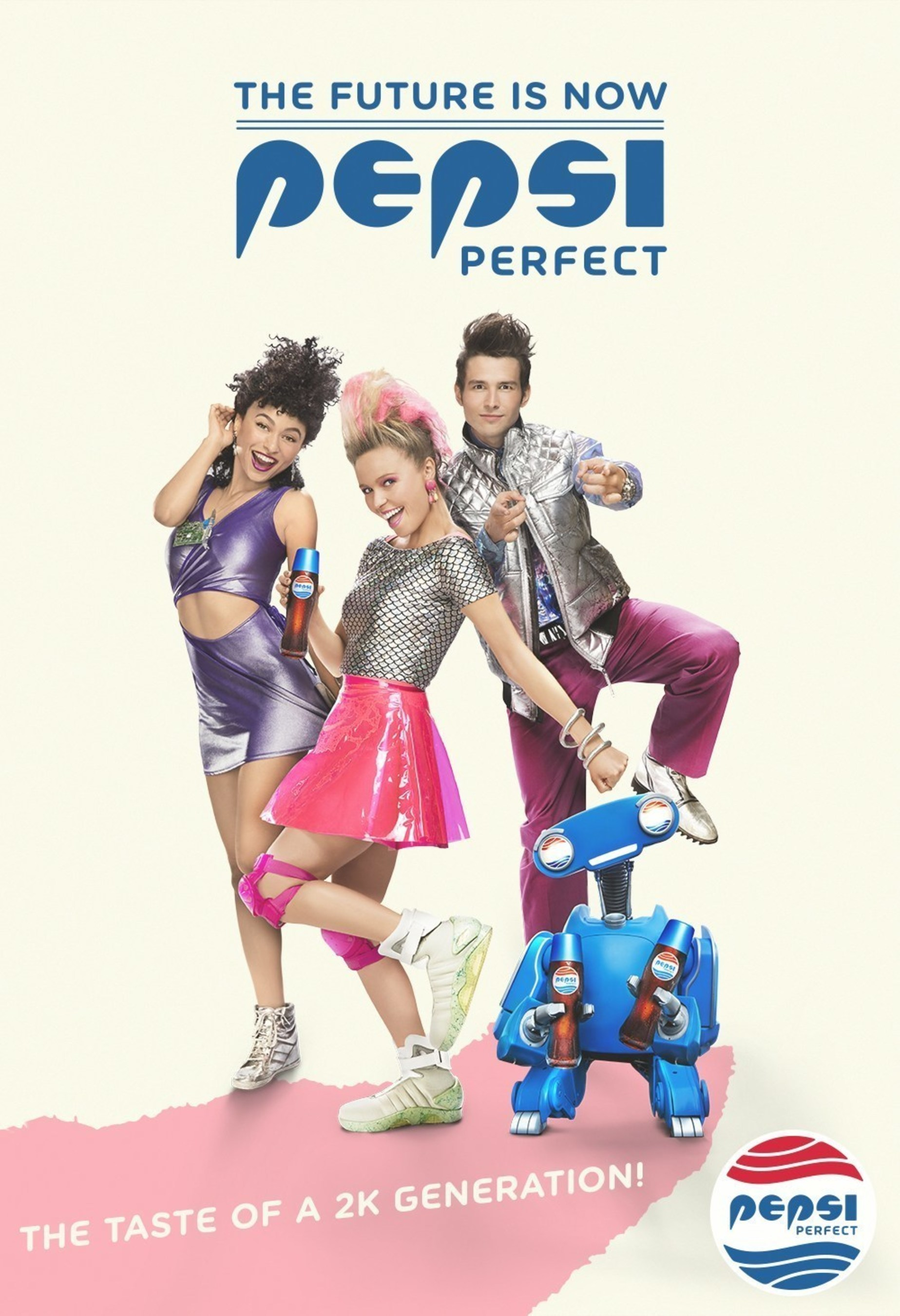 Pepsi unveils a series of themed advertisements in celebration of Pepsi Perfect and the 30th anniversary of ...