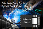 Easy-to-use ISL8117 eliminates need for intermediate power conversion stage in industrial applications