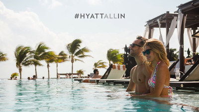 Go #HyattAllIn: Enter for a chance to win a getaway at a Hyatt all inclusive resort at YouTube.com/Hyatt.