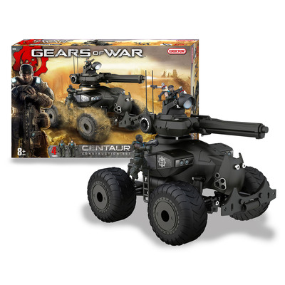 Erector(R) Unleashes Its Gears of War Collection of Buildable Model Vehicles.  (PRNewsFoto/Erector)