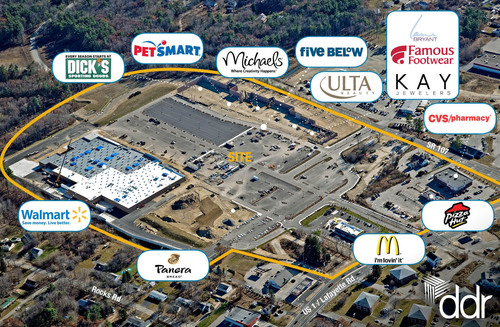DDR Signs Anchor Tenants for Seabrook Commons Development Project in New Hampshire
