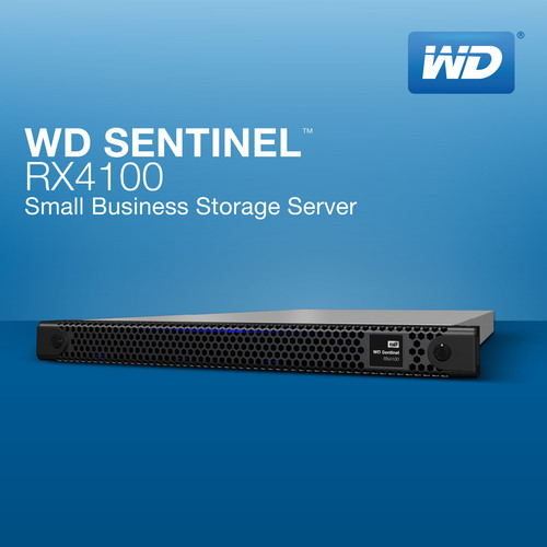 New WD Sentinel(TM) RX4100 Offers Advanced Network Storage Features at SMB Pricing.  (PRNewsFoto/WD)
