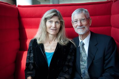 MED-EL founders Ingeborg Hochmair, PhD, and Professor Erwin Hochmair have been awarded the 2015 Fritz J. and Dolores H. Russ Prize, for engineering cochlear implants that enable the deaf to hear. (PRNewsFoto/MED-EL)