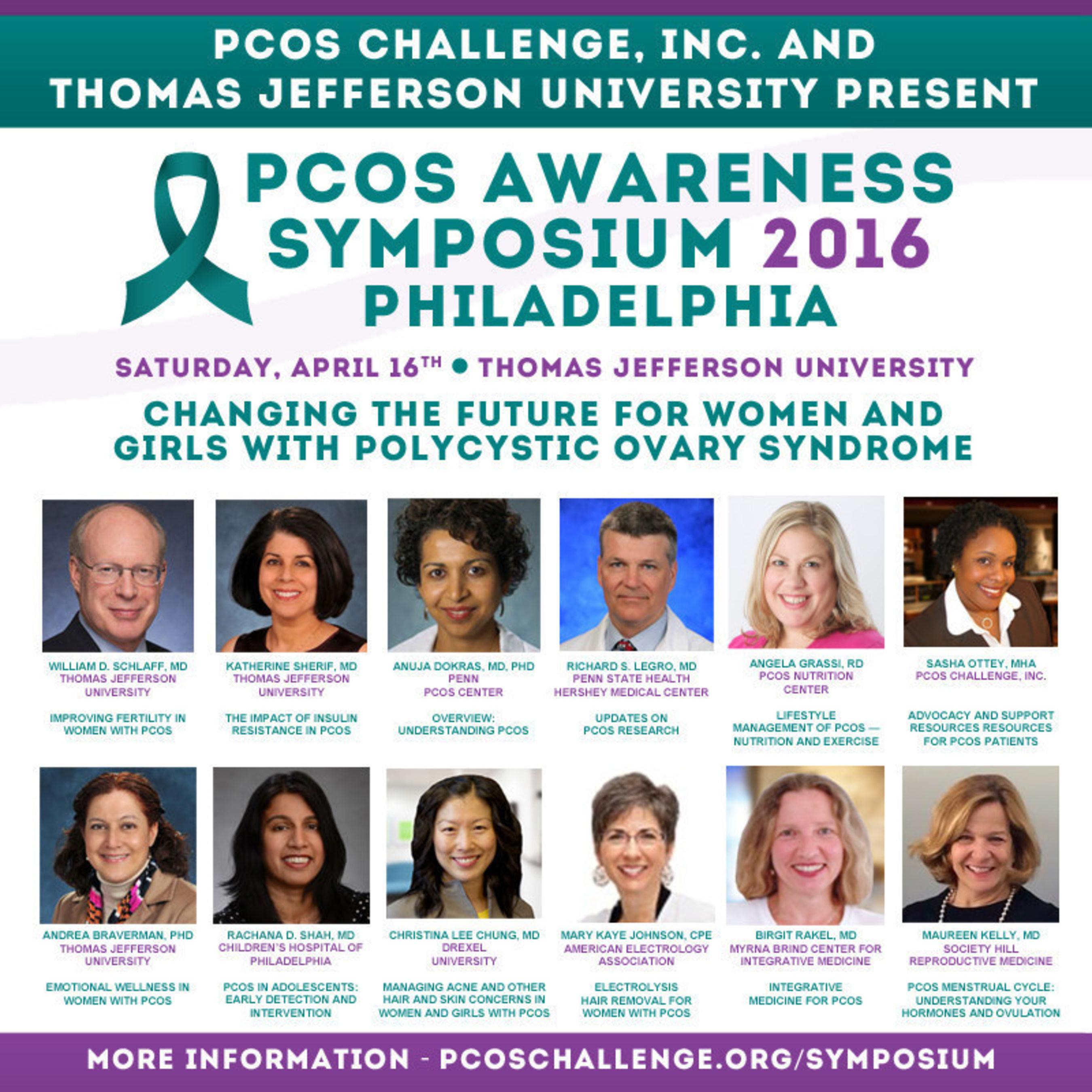 PCOS Awareness Symposium Speakers