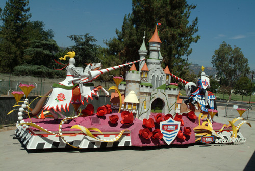 Bayer Advanced(TM) Recreates The Legend of Camelot With Its 2011 Rose Parade(R) Float on January 1.  ...