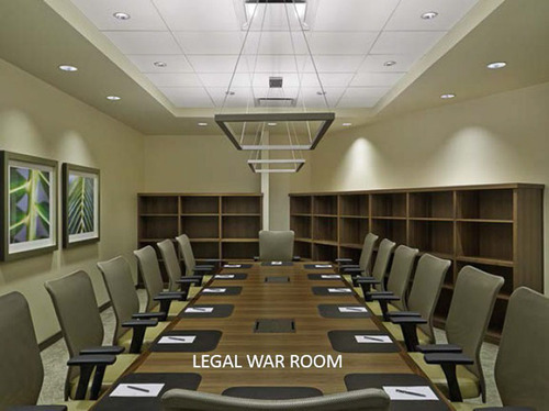 Legal War Room at Westin San Diego. (PRNewsFoto/DiamondRock Hospitality Company) (PRNewsFoto/DIAMONDROCK ...