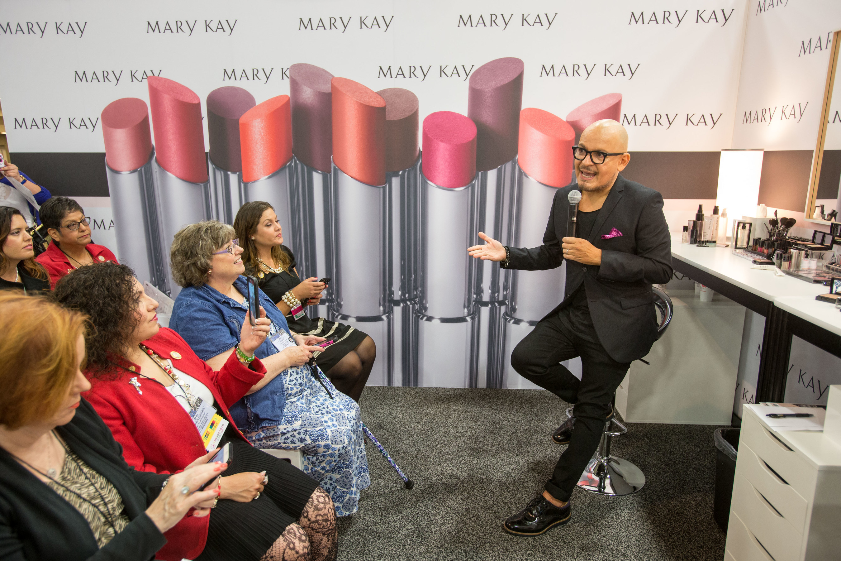 Luis Casco is named Global Beauty Ambassador for Mary Kay Inc. In this new role , Casco will advise Mary Kay and its independent sales force on topics including product development, color education, sales education and social influencer events.