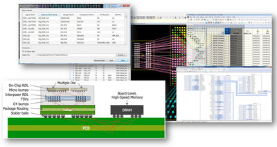 The Mentor Graphics Xpedition Package Integrator flow provides a multi-mode connectivity management system for cross-domain pin-mapping and system-level connectivity tracking and verification.
