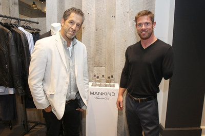 "Designer Kenneth Cole with the ""Ultimate Men's Health Guy"" winner Noah Galloway. The ""Ultimate Men's Health Guy"" search was presented by MANKIND by Kenneth Cole Fragrance."