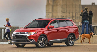 2016 Mitsubishi Outlander ranked number one on Cars.com list of most affordable 3-row CUVs
