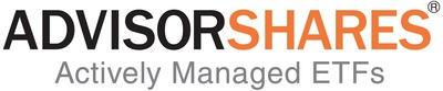 AdvisorShares logo.