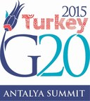 """In the Antalya Action Plan..., you can find updated growth strategies, implementation schedules and accountability report, for the first time ... G20 is not a club of the rich. Understanding the situation of the low income developing countries, we agreed to restructure G20's agenda on development to support the 2030 AGENDA FOR SUSTAINABLE DEVELOPMENT. For the first time, we included reducing food loss and waste, which is a global problem, as well as the issue of increasing access to energy particularly in Africa, during the first ever G20 Energy Ministers Meeting."" President Erdogan speaking at the Press Conference following the G20 Summit (PRNewsFoto/G20 Turkish Presidency)"