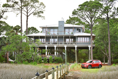 From August 8 through September 26, eligible viewers can enter for a chance to win the DIY Network Blog Cabin 2016 Giveaway, a prize package valued at more than $900,000 that includes the fully renovated and furnished waterfront home in Panacea, Florida, plus $50,000 from national mortgage lender Quicken Loans and a new 2016 Mazda CX5.