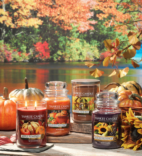 Yankee Candle Launches New Fragrances for Fall 2012