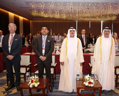 Sheikh Nahyan bin Mubarak Al Nahyan, Minister of Culture and Knowledge Development inaugurated the First ...