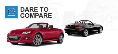 battle for best convertible starts with the mazda mx 5 miata vs bmw z4. Black Bedroom Furniture Sets. Home Design Ideas