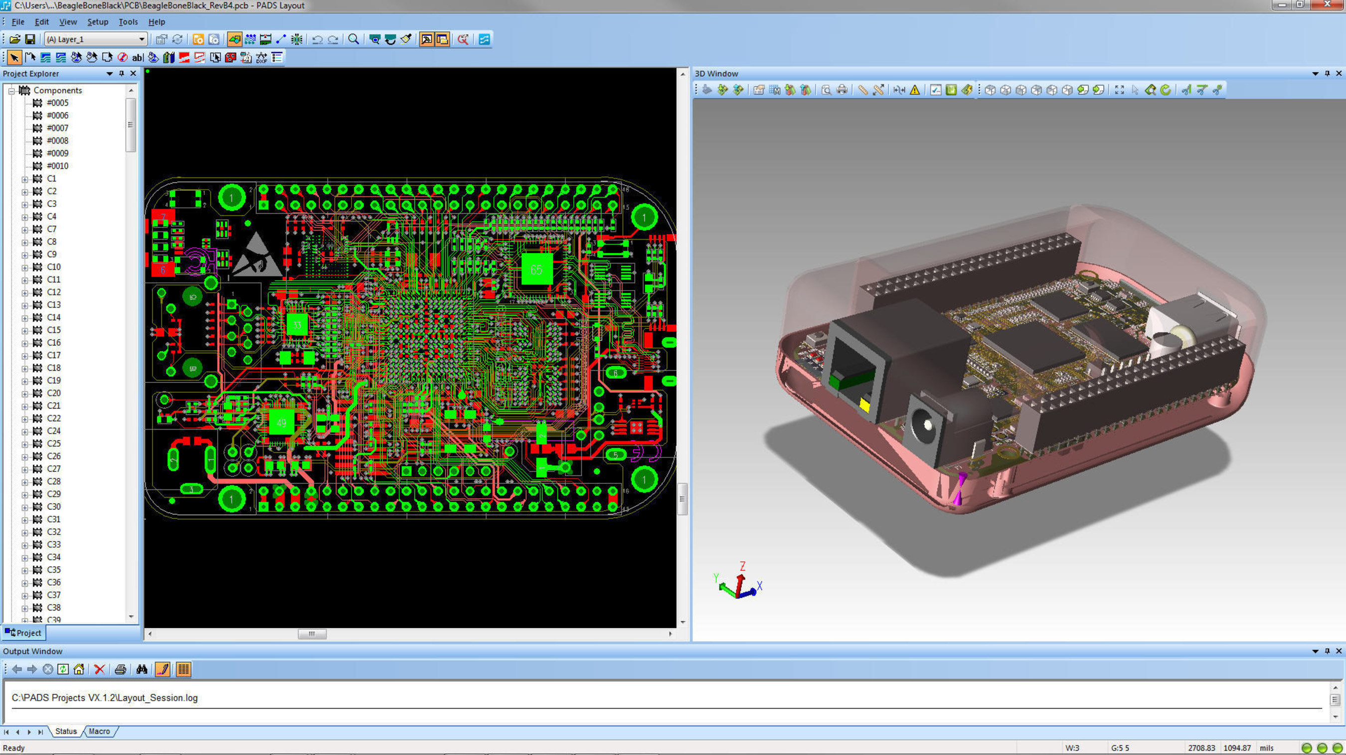 Mentor Graphics Announces New 3d Solution And Major Productivity Aquisition Of Electronic Circuit Boards Pcbs Prototype Padsr Empowers Pcb Designers Engineers To See Every Component Mechanical