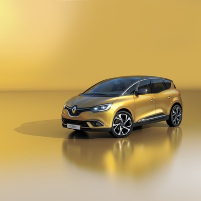 Renault unveiled the new SCENIC on its 20th anniversary after creating the compact MPV segment (PRNewsFoto/Groupe Renault)