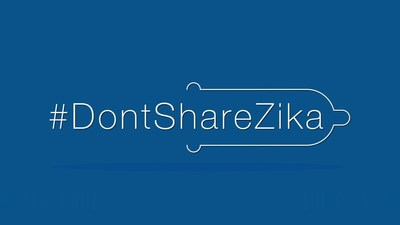 IPPF and Durex join forces to raise awareness of Zika as an STI, by launching international #DontShareZika campaign.  Durex have created an educational video to explain that the Zika virus can be passed between couples during unprotected sex, and have committed to a giveaway of three million condoms. (PRNewsFoto/Durex)