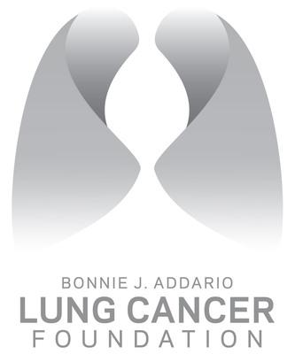 The Bonnie J. Addario Lung Cancer Foundation logo.  (PRNewsFoto/Bonnie J. Addario Lung Cancer Foundation)