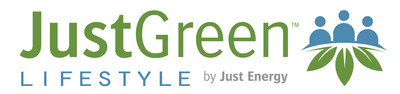 JustGreen Lifestyle by Just Energy.  (PRNewsFoto/Just Energy)