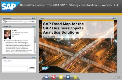 "Through the award-winning ""Best Run Business Intelligence and Analytics Webcast Series,"" SAP delivered a data-driven, multi-touch campaign to support the buyer's journey of BI prospects."