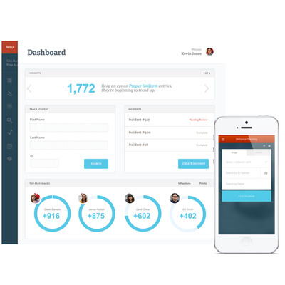 Hero by PlascoTrac is cloud-based Classroom Management & School Incident Management. Dashboard shows teachers and administrators a quick view of student performance. Hero is also available for Android and iOS devices.