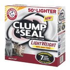 "ARM & HAMMER(TM) launches Clump & Seal(TM) Lightweight Cat Litter aimed to ""Lighten the Day"" for cat owners"