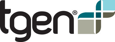 TGen logo.  (PRNewsFoto/Riddell)