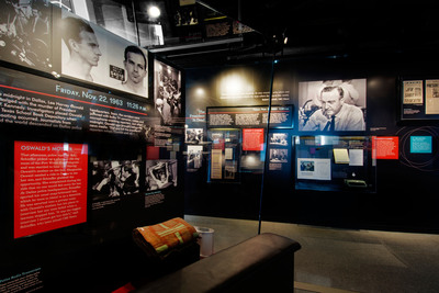 """Three Shots Were Fired"" is part of the JFK exhibits opening Friday, April 12, at the Newseum in Washington, D.C."