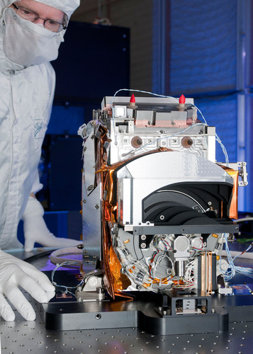 Ball Aerospace OMPS instrument for JPSS-1 spacecraft.  (PRNewsFoto/Ball Aerospace & Technologies Corp.)