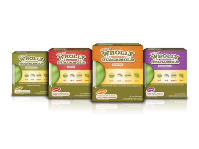 Wholly Guacamole(R) brand introduces new tray packaging! Same Great Guac, Cool New Look!  (PRNewsFoto/Wholly Guacamole)