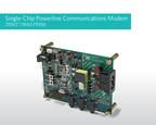 Maxim Integrated's ZENO(TM)/MAX79356 powerline communications (PLC) modem SoC supports all narrowband PLC utility standards.