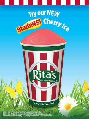 Rita's Italian Ice to Celebrate First Day of Spring with Free Italian Ice March 20th! (PRNewsFoto/Rita's Italian Ice) (PRNewsFoto/RITA'S ITALIAN ICE)