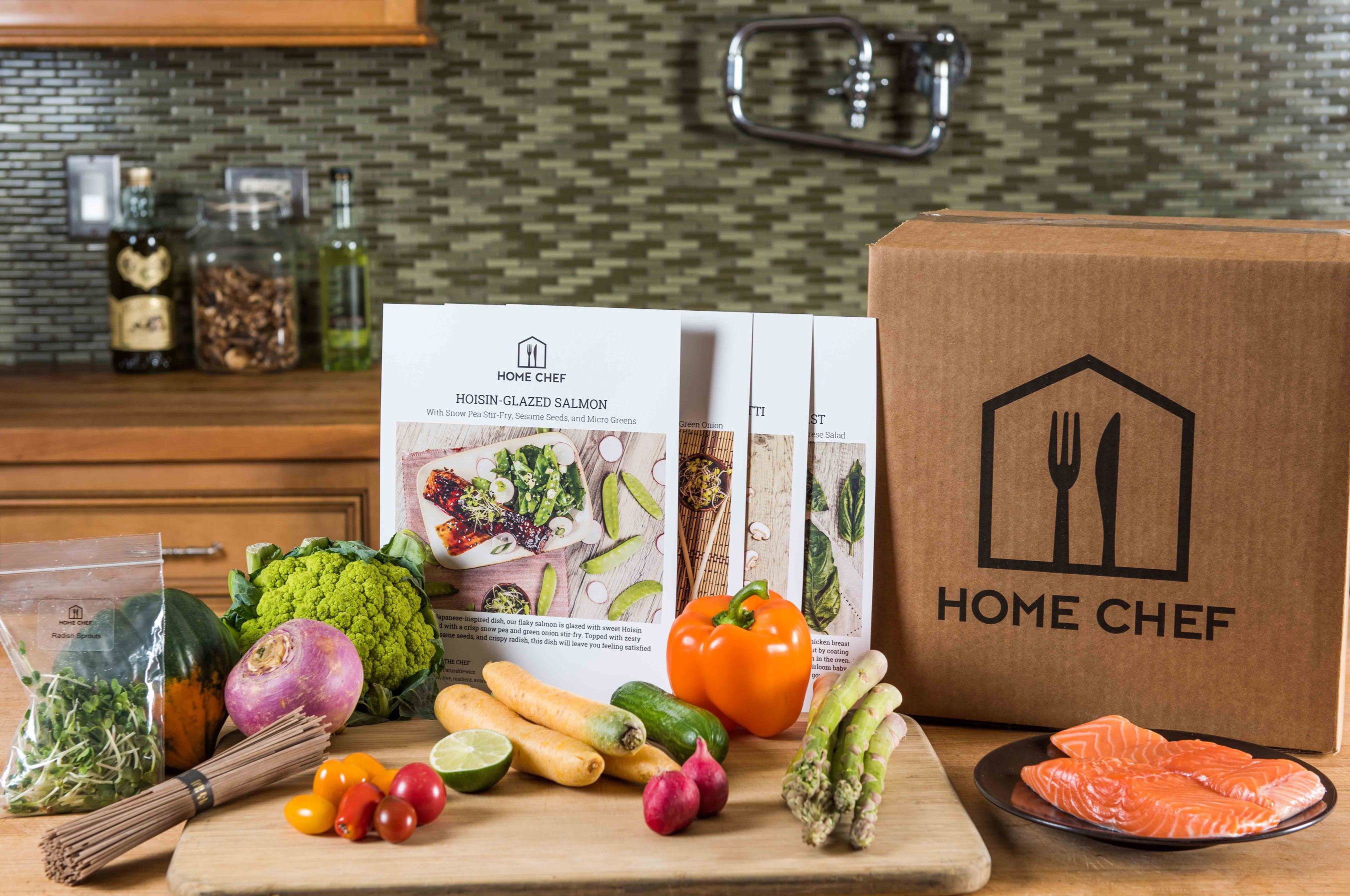 Home Chef, the Chicago-based meal delivery service, announces expansion to reach 90 percent of all Americans and dishes out fresh ingredients and recipes for home cooking