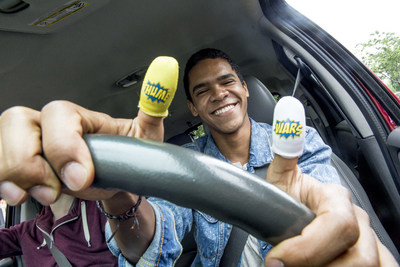 DoSomething.org and Sprint's Thumb Wars campaign encourages young people to share Thumb Socks to start the conversation about texting and driving.