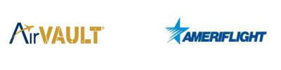 Ameriflight - AirVault Logo.  (PRNewsFoto/AirVault)