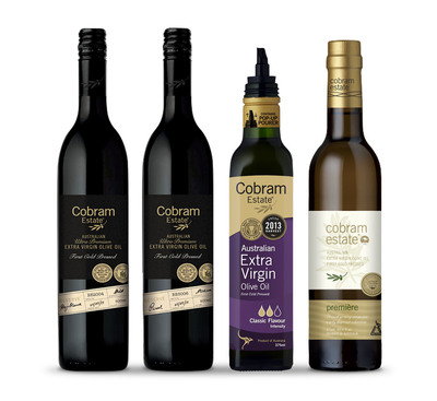 Cobram Estate's Winning Group.  (PRNewsFoto/Cobram Estate)