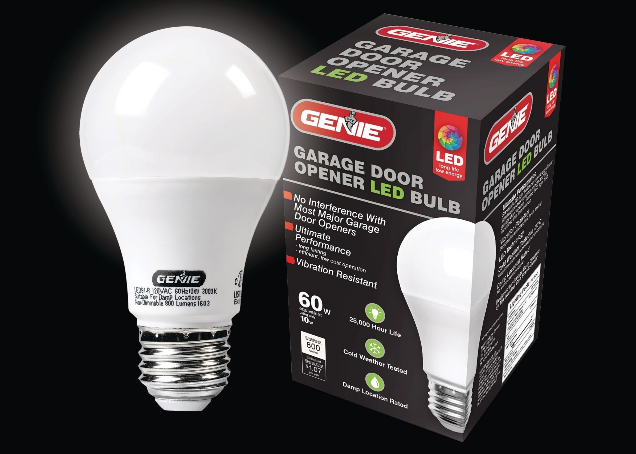 The Genie Company Introduces A New LED Bulb For Garage Door Openers
