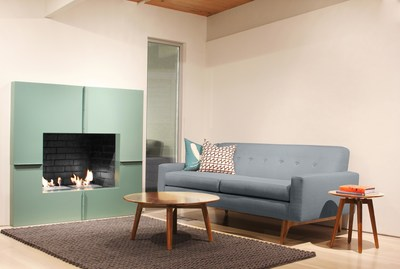 The Tyler sofa from BenchMade Modern, custom by-the-inch sofas in as little as 24 hours.